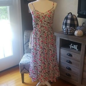 Womens spaghetti strap dress.